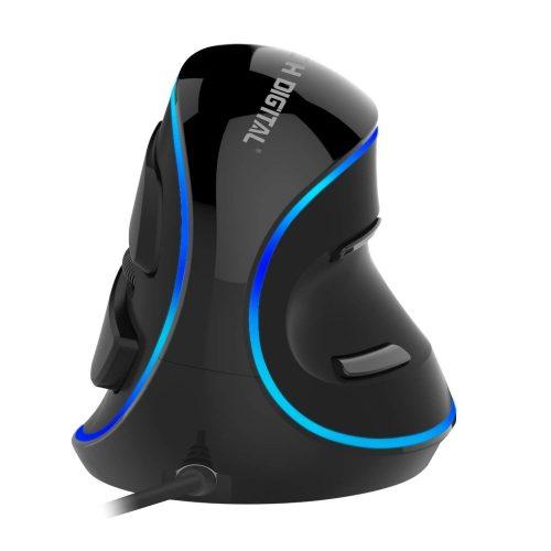 J-Tech Digital [V628] Wired Vertical USB - Vertical Mouses