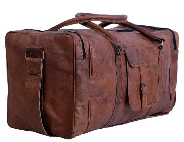 Komal's Passion Leather - Weekender bag for men