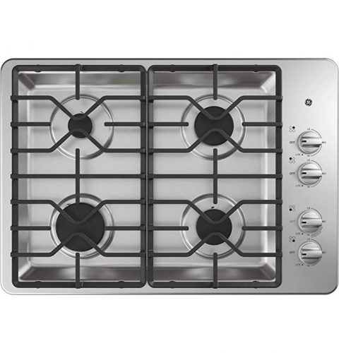 Natural Gas Sealed Burner Style Cooktop  - Gas Cooktops