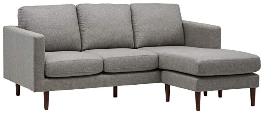 Rivet Revolve Modern Reversible Chaise Sectional - Corner Sofa (L shape sofa)
