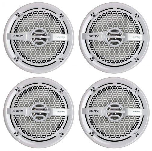 """Sony 4 XS-MP1611 6.5"""" 280 Watt Dual Cone Marine Speakers Stereo - marine speakers"""