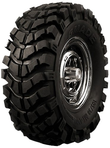 """Gmade 70164 1.9"""" MT 1901 Off-Road Tires (2)"""