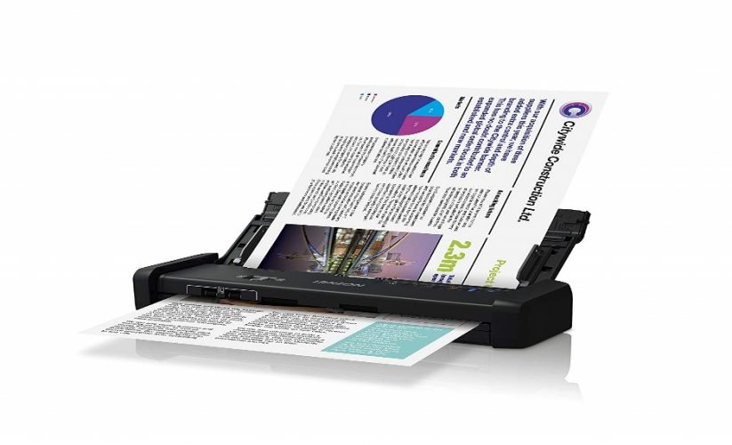 Epson DS-320 Mobile Scanner with ADF - Portable Scanners