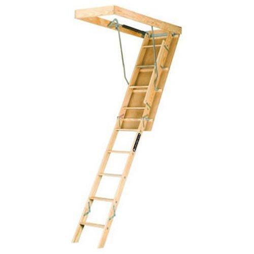 Louisville Ladder 22.5-by-54-Inch Wooden Attic Ladder - Attic Ladders