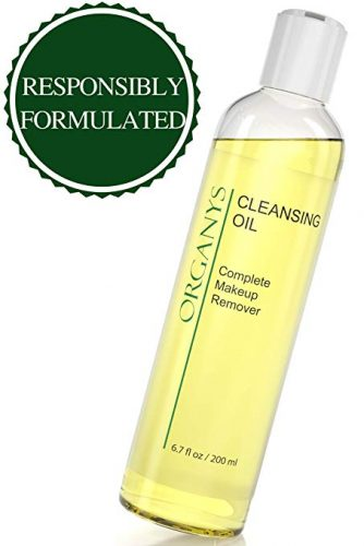 Organic Cleansing Oil & Makeup Remover Best Natural Anti Aging Gentle Daily Face Wash Deep Cleanser