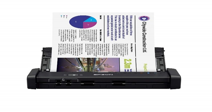 Epson Workforce ES-200 Color Portable Document Scanner - Portable Scanners