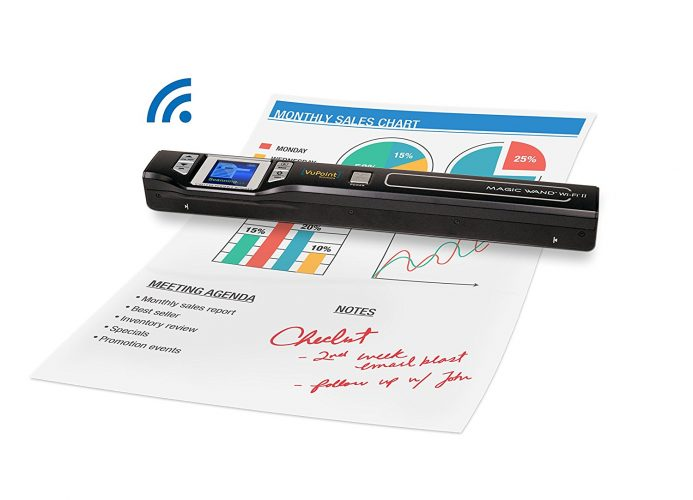 Document/Image Scanner 8x Zoom VuPoint ST47 Magic Wand - Portable Scanners