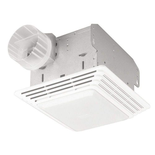 Broan 678 Ventilation Fan and Light Combination - Bathroom Exhaust Fans