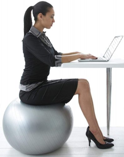 CalCore Fitness Brand Professional Physio Ball Chair - Office Ball Chairs