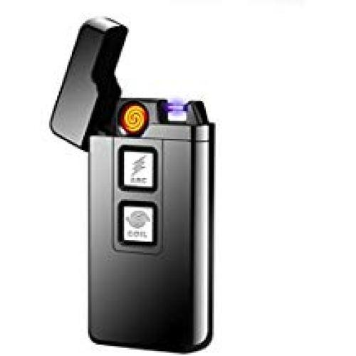 Plasma Lighter Coil Lighter USB Rechargeable Cigarette Lighter Windproof - Windproof Lighters