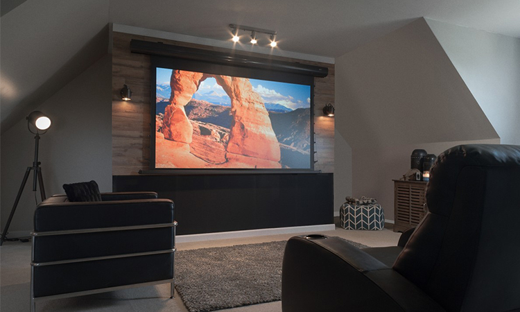 Motorized Projector Screens