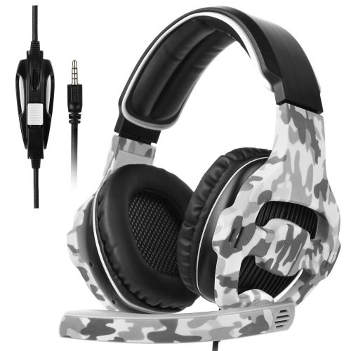 SADES SA810 New Updated Xbox One Headset Over-Ear Stereo Gaming Headset Bass Gaming Headphones with Noise