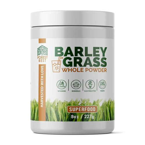 Barley Grass Powder - Nutritional Powerhouse Organic Superfood (8 oz)