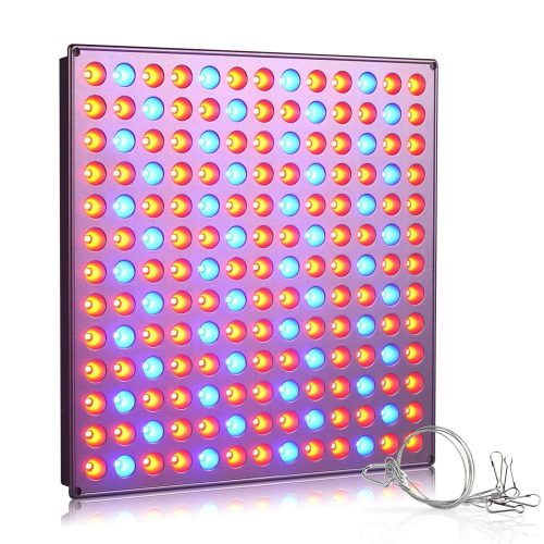 Roleadro LED Grow Light, 75w Plant Growing Lights Grow Lamps Panel with Red&Blue Spectrum for Indoor Plants, Hydroponic, Greenhouse, Succulents, Flower, Seedling Growing, Micro Grow Light Garden