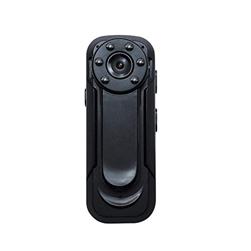Lenofocus Body Camera 1080P Wireless WiFi Hidden Spy Camera Portable Small Clip Pocket Cameras Home Security Camera Nanny Cam with Night Vision Motion Detection, Sports DV Mini Camera for Car