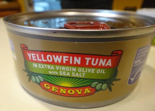 Canned Tuna Review Genova Yellowfin Tuna In Extra Virgin