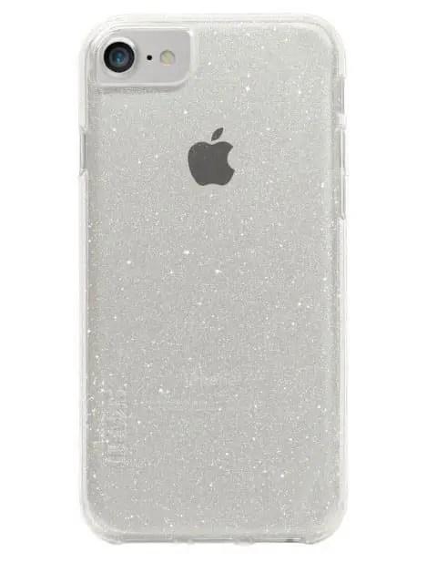 כיסוי לבן שקוף לאייפון 6/7/8 - skech Matrix Sparkle