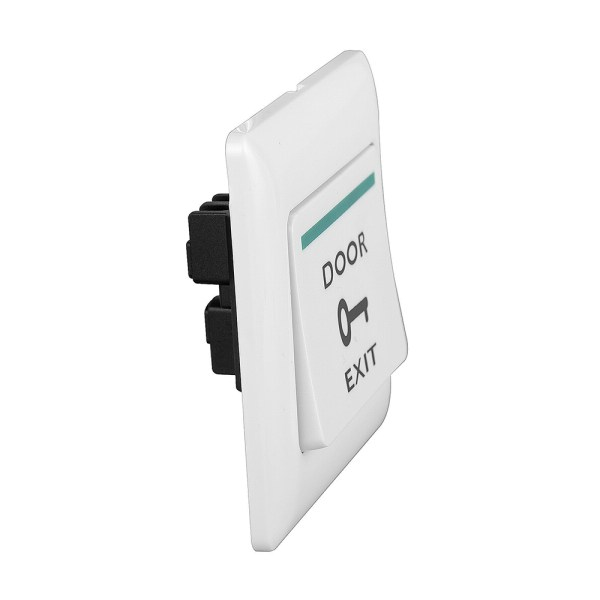 Plastic Door Open Release Exit Push Button Switch Front and Side