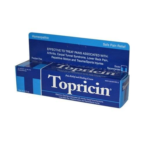 Topical Biomedics Topricin Cream 2 oz