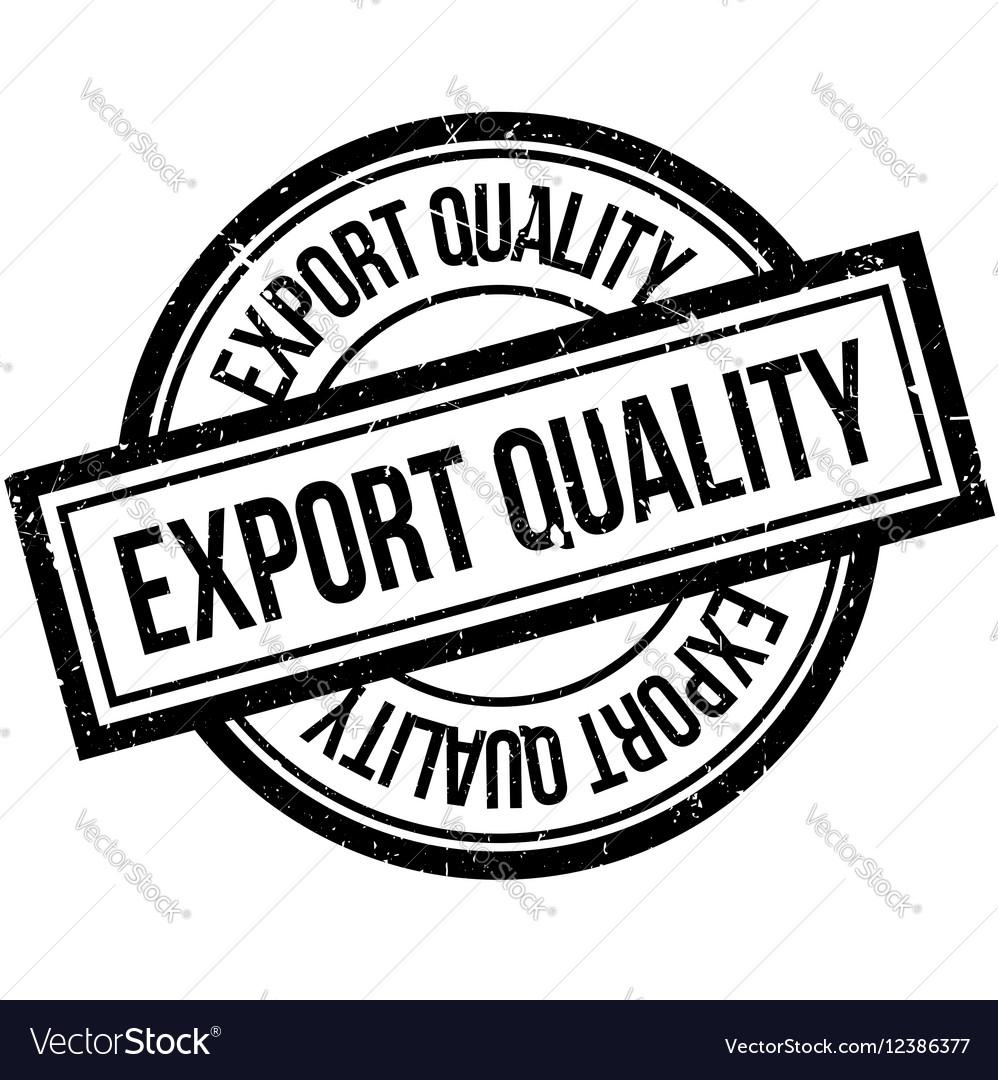 BIFL Export quality