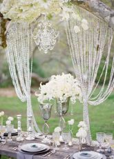 wedding style beaded curtains