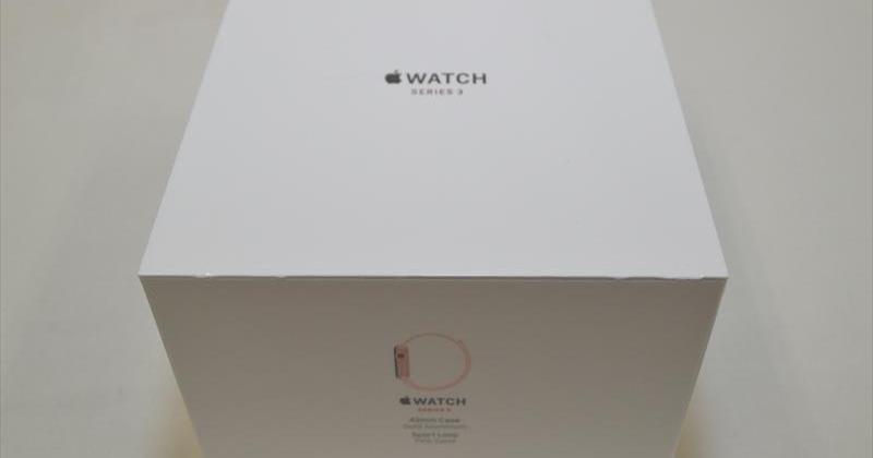 新品未開封 Apple Watch Series 3(GPS + Cellularモデル) 42mm ゴールドアルミニウムxピンクサンドスポーツループ MQKT2J/A 買取実績