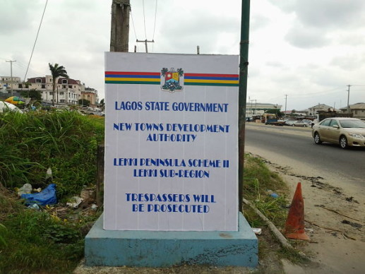 Land Under Government Acquisition In Lagos State