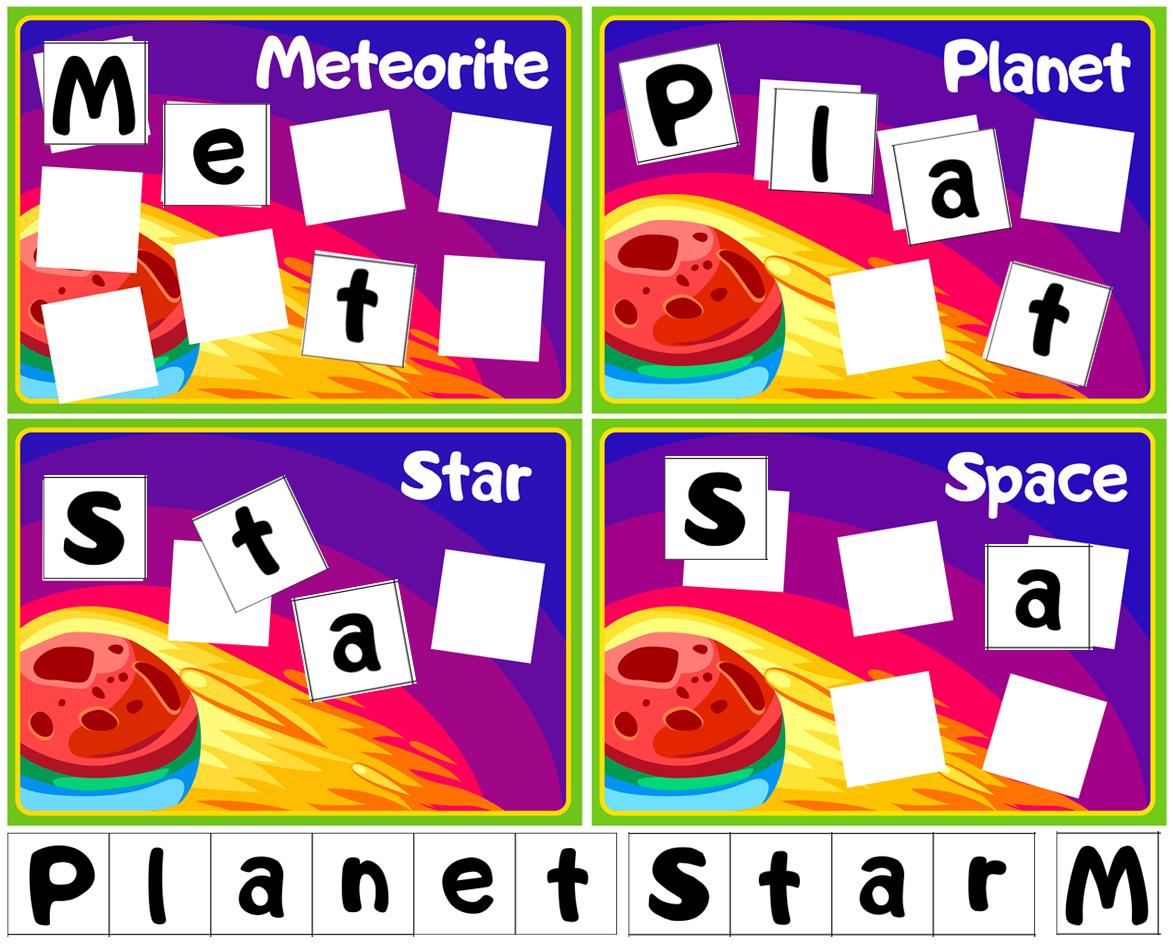 Space Theme Activities For Preschoolers Buylapbook