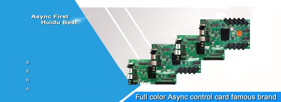 huidu async control card