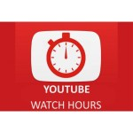 Buy 100 Hours YouTube WatchTime Views