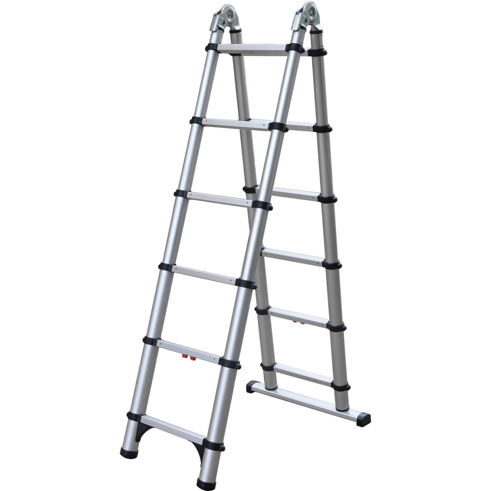 Telesteps 6 Step 12 Extension Telescopic Combi Ladder