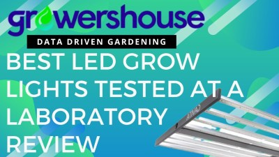 Best LED Grow Lights Tested at Light Laboratory to Review The Top Indoor Gardening LED Lighting