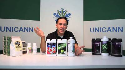 Cannabis University – Nutrients – Additives