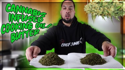 HOW TO MAKE CANNABIS COOKING OIL AND BUTTER