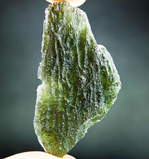 2 Inches Long Moldavite - Certified