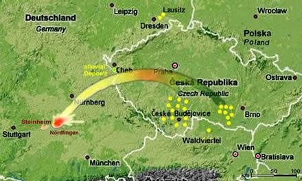 Moldavite Deposits Czech Republic