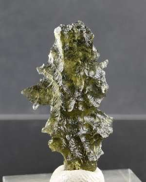 Moldavite From Besednice +A Rare Shape (2.3grams)