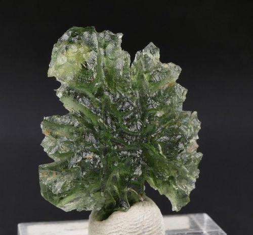 AAA Rare super shape Moldavite from Besednice