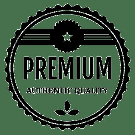 authentic premium quality badge