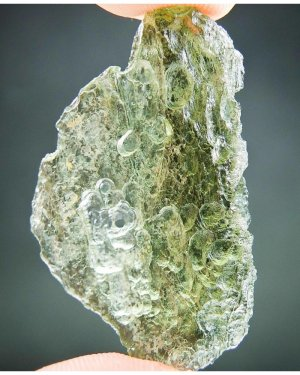 Natural Hole Moldavite (4.98grams)