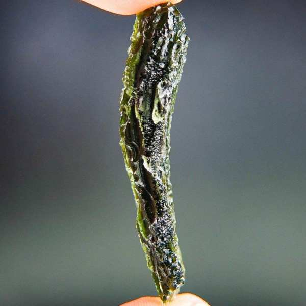 Authentic Big Angel Chime Moldavite with Certification of Authenticity (11.52grams)