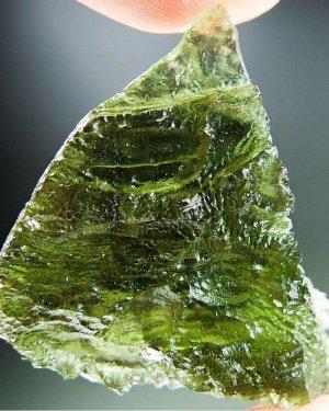 High Quality A+ Glossy Moldavite (8.5grams)