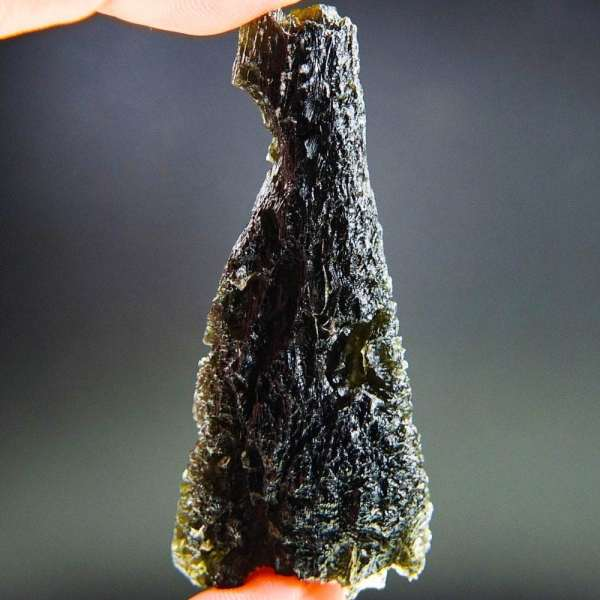 Rare Investment Large Moldavite with Certification of Authenticity (20.3grams)