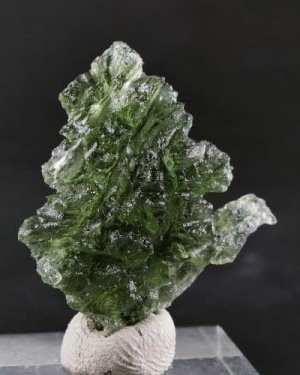 Moldavite from Besednice Natural Shape (4.2grams)