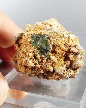 Super Rare Matrix Moldavite Specimen (37grams)
