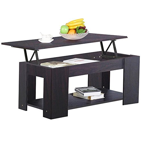 yaheetech lift up top coffee table w