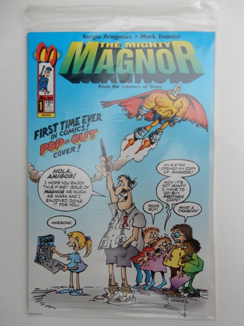 Mighty Magnor #1 Bagged