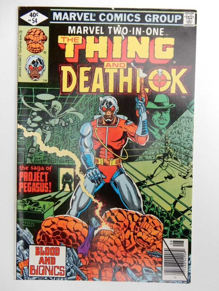 Marvel Two-In-One #54 The Thing and Deathlok