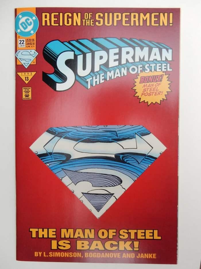 Superman: The Man Of Steel #22