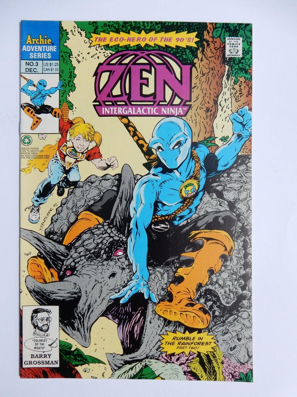 Zen Intergalactic Ninja #3